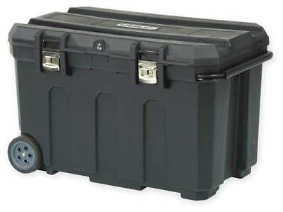Rolling Tool Box, High Density Structural Foam, Black, Stanley, 037025H