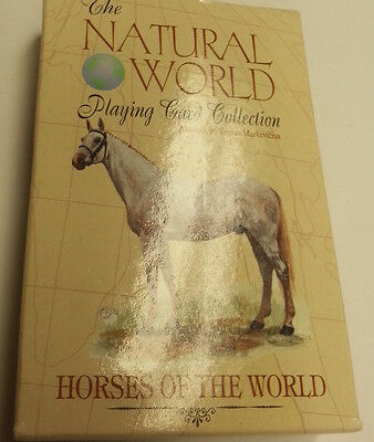 HORSES OF THE WORLD PLAYING CARD DECK