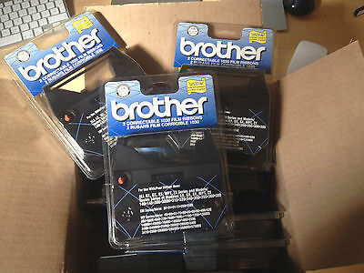 Lot of 15 Packs Brother 1230 Black Correctable Ribbon 1030 Genuine AX Series