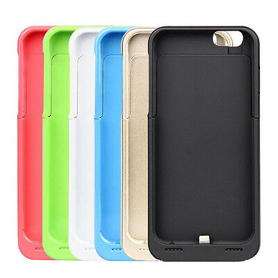 New 3500mAh External Power Bank Case Backup Battery Cover for iPhone 6