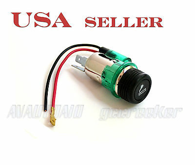 12VDC Car Cigarette Lighter & Socket with LED for Honda Nissan Toyota GS05 5110