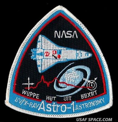 ASTRO-1 Observatory STS-35 NASA Shuttle Payload Telescope SPACE MISSION PATCH