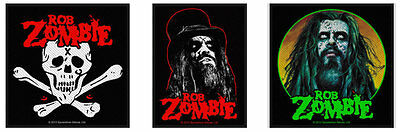 Rob Zombie Sew On Patch/Patches NEW OFFICIAL Choice of 3 designs