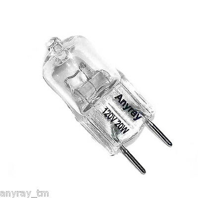 (5)-Pack Replacement Light Bulb 120V 20-Watt for GE Microwave WB25X10019  20W