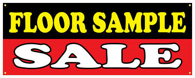 Spring Sale Banner  Huge Discounts Retail Store Sign 18x48