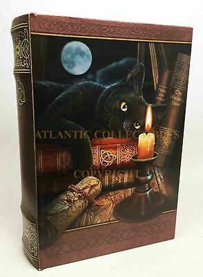 Decorative Wooden Book Box By Designer Lisa Parker Witching Hour Black Cat