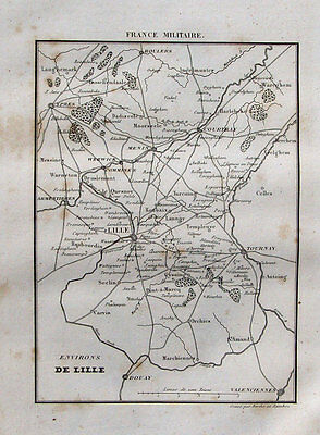 France Revolution Militaire Lille Tournay Douay Courtray Ypres Celle Rhein Menin