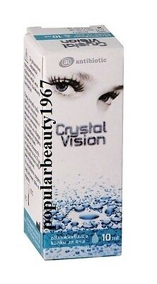 CRYSTAL VISION  lubricant Eye Drops 10ml...fatigue or discomfort of the eyes