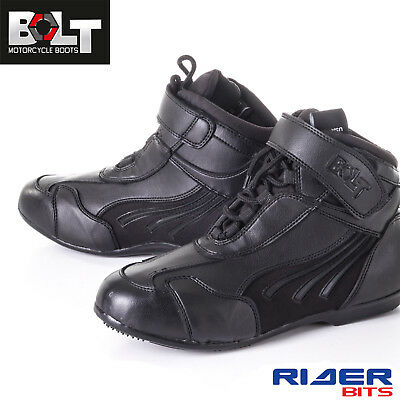 Motorcycle Ankle Boots Bolt R-22 Waterproof Bikers Short Shoes For Racing Riding