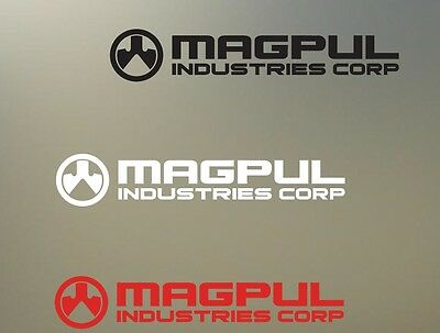 """(2) 6"""" magpul vinyl Decal sticker any size color surface car  RC PHONE S799"""
