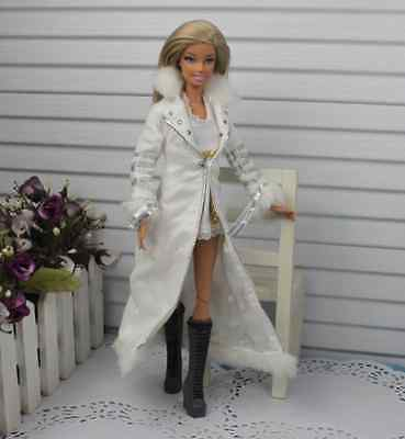 2014 new CHRISTMAS DAY GIFT COOL 2pcs hot dress&outfit set for barbies Doll a26