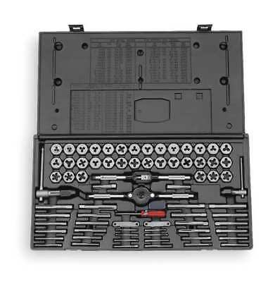 VERMONT AMERICAN 21741 Tap and Die Set, 75 pc, Carbon Steel