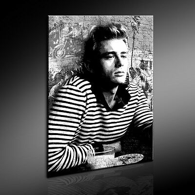 leinwand bild james dean bilder mit keilrahmen leinwandbilder kunstdrucke picclick de. Black Bedroom Furniture Sets. Home Design Ideas