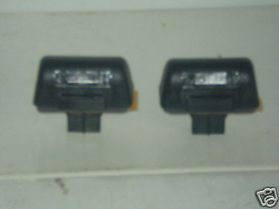 1 PAIR OF FORD TRANSIT NUMBER PLATE LAMPS 1986-1992 NEW