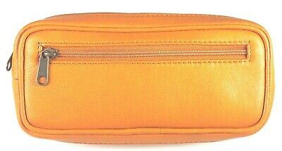 Diabetic Insulin Pen and Glucometer / Glucose meter CAMEL / TAN leather case