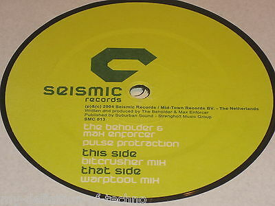 The Beholder & Max Enforcer, Pulse Protraction (Seismic Records 013) Neophyte