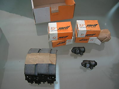 kit freins avant ford escort 68 a 74 Ø 203 mm