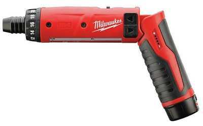 Cordless Screwdriver Kit, 4V, 1/4 In, 3 PC, M4™, Redlithium™ MILWAUKEE 2101-21