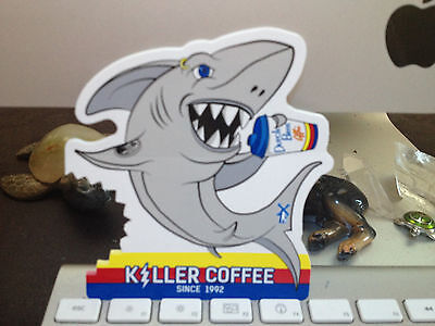 Dutch Bros. Coffee~Shark ~Killer Coffee~Sticker