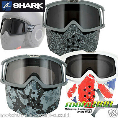 SHARK Raw Helmet Custom Goggle&Mask Cover Visor Motorcycle Accessories