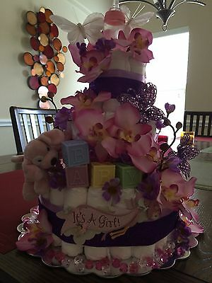 Diaper Cakes and Diaper Fdiaper bouquets