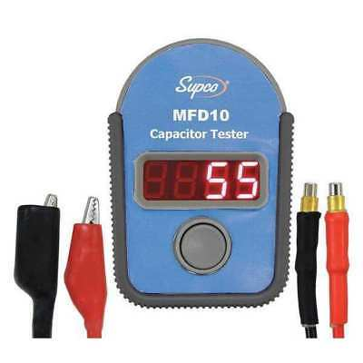 Capacitor Tester,0.01 to 9999uF SUPCO MFD10