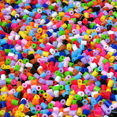Hot Sale New Chic 2.9MM 3000PCS Various Colors Perler Beads free shipping