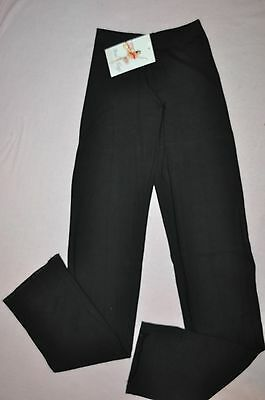 Nwt Bal Togs adult sizes Black low rise cotton dance pants trousers item #3425
