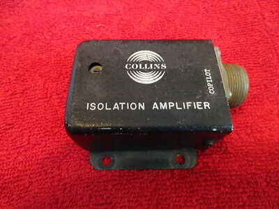 Collins 356C-4 Audio Isolation Amplifier P/n 522-2866-000