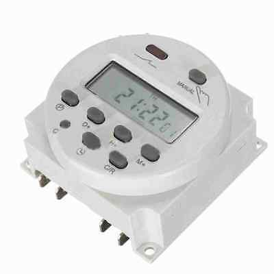 DC 12V 16A Mini LCD Digital Programmable Control Power Timer Switch Time Relay
