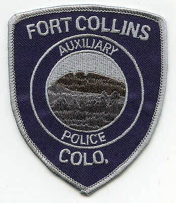 FORT COLLINS COLORADO CO Auxiliary POLICE PATCH