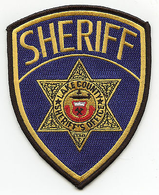 old vintage LAKE COUNTY COLORADO CO SHERIFF POLICE PATCH