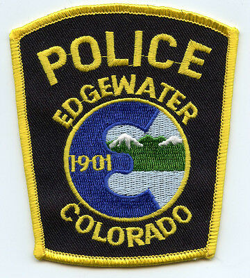 Edgewater Colorado Co Police Patch