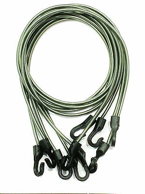 5 foliage TACTICAL BUNGEE CORDS lightweight USA MADE