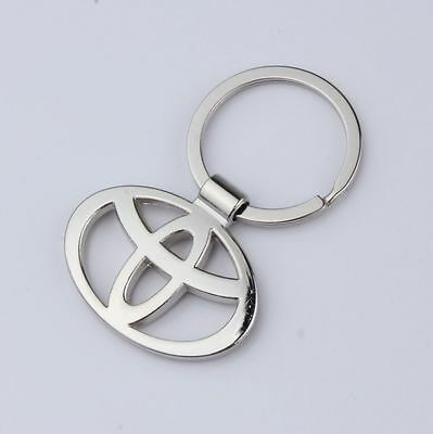 Free shipping TOYOTA Car Logo Metal Alloy key Chain Creative Gift keyring new