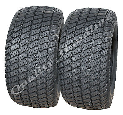 2 - 23x10.50-12 4ply Multi turf grass - lawn mower tyres pair