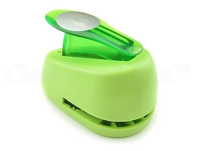 """1"""" Circle Hole Punch - Craft Paper Punch - Scrapbooking - Lime - 1 Inch 25mm"""