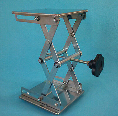 New Stainless Steel Lab Jack Stand Labjack Scissor 6""
