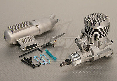 RC ASP S61A Two Stroke Glow Engine w/Remote HS Needle Valve