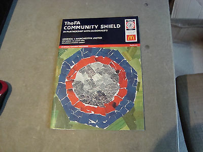 Arsenal v Manchester United 2003 Charity Shield