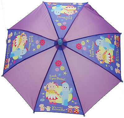 Official In The Night Garden ITNG Kids Umbrella Igglepiggle Upsy Daisy Licensed