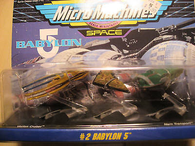 Micro Machines Space - #2 Babylon 5 Vehicles Collection 1994