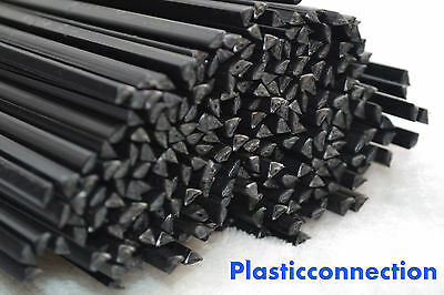 ABS Plastic welding rods ( 4mm) black, 22 pcs, bumper, fairing repairs