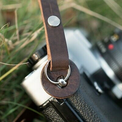 Camera Protection Pads for '1901' Leather Straps - Old Collodion Brown