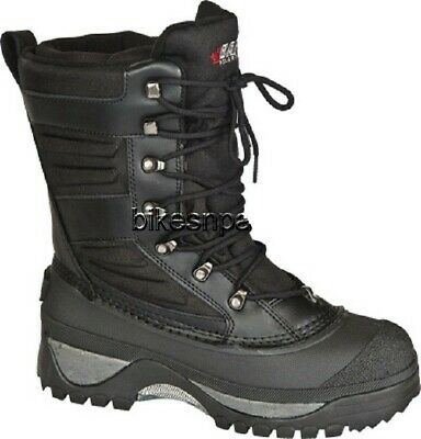New Mens Black Size 12 Baffin Crossfire Snowmobile Winter Snow Boots -40 F