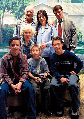 Malcom In The Middle TV Show Cast Poster