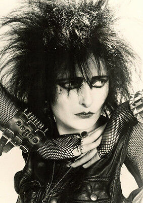 Siouxsie and the Banshees  Sioux Early BW Poster
