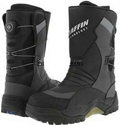 New Mens Size 11 Baffin Pivot BOA Snowmobile Winter Snow Boots Rated -94 F