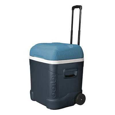 IGLOO 45332 Wheeled Chest Cooler,70 qt., Blue