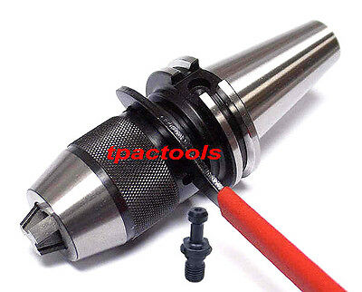 "Cat40 Intergrated Precision Keyless Drill Chuck 1/2"" Fits On Haas Cat40 Cnc New"